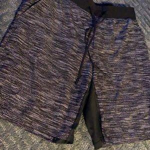 LULULEMON Athletic Lined Shorts. Size Medium
